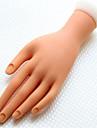 outils de manucure silicone faux main pour pratiquer la peinture a ongles 1 piece