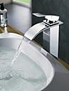 Contemporain Vasque Cascade with  Soupape en laiton Mitigeur un trou for  Chrome , Robinet de baignoire Robinet de Cuisine Robinet lavabo