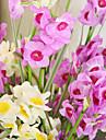 1 1 Une succursale Polyester / Plastique Autres Fleur de Table Fleurs artificielles 43.3*2.3inch/110*6cm