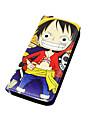 Sac / Portefeuilles Inspire par One Piece Cosplay Anime Accessoires de Cosplay Portefeuille Noir Cuir PU Masculin / Feminin