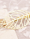 Gold Hollow Leaf Branch Shape Hair Clip Barrette Pins for Lady Casul Hair Jewelry