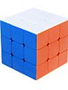 Shengshou® Slät Hastighet Cube 3*3*3 Hastighet Magiska kuber Vit ABS
