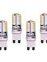 7W G9 LED-lampor med G-sockel T 64 SMD 3014 550 lm Varmvit / Kallvit Dekorativ AC 220-240 V 4 st