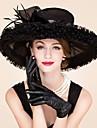 Femei Pană Organza Diadema-Nuntă Ocazie specială Informal Pălărioare Pălării/Căciuli 1 Bucată