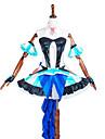 Inspirerad av Macross Frontier Annat anime Cosplay dräkter cosplay Suits / Klänningar LappverkKjol / Huvudbonad / Krage / BH / Ärmar /