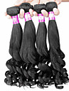 """4 st / lot 14 """"-22"""" 7a brasilianska jungfru hår päron blomma människohår väft 100% obearbetat brasilianskt remy hår väver"""