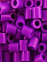 ca 1000st / påse 5mm blandad färg säkrings pärlor Hama Pärlor DIY pussel eva material safty för barn (slumpvis färg)