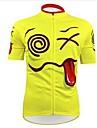 KEIYUEM® Cykeltröja Unisex Kort ärm CykelVattentät / Andningsfunktion / Snabb tork / Anatomisk design / Regnsäker / Vattentät dragkedja /