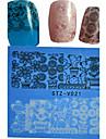Nail Sticker Nail Art Bouts  pour ongles entiers / Autocollant dentelle / Bijoux pour ongles