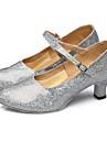 Latin / Pantofi Dans-Pantofi de dans(Negru / Roșu / Argintiu / Auriu) -NePersonalizabili-Damă