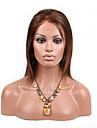evawigs cheveux humains pleine perruque de dentelle couleur naturelle cheveux bob perruques de cheveux raides mode jeunes filles dentelle
