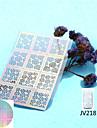 Nail Sticker Nail Art Diecut Manucure Pochoir