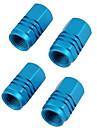 4 st färgade ventilkåpan bildäck ventilhatten