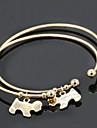 Armbånd Bangles / Manchetarmbånd Legering Vintage Daglig / Afslappet Smykker Gave Sølv,1pc
