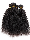 4 Pieces Kinky Curly Tissages de cheveux humains Cheveux Indiens Tissages de cheveux humains Kinky Curly