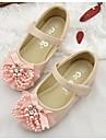 Fete Pantofi Flați Confortabili Imitație Piele Primăvară Vară Toamnă Confortabili Alb Roz