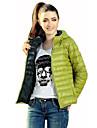 Femei Palton Femei Activ Căptușit Manșon Lung Poliester / Altele