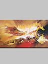 handmålade moderna abstrakta oljemålningar på duk väggdekorationer bild med sträckt ram redo att hänga