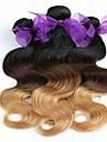 3 delar Kroppsvågor Human Hair vävar Malaysiskt hår Human Hair vävar Kroppsvågor