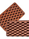 1 Bakning kaka Utsmyckning / bakning Tool Tårta / Kaka / Choklad Silikon Bakningsformar