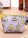 söt frukt pudding noll väska kvinnliga mini mynt väska kort stycke pu handväska pvc låda
