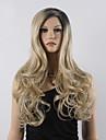 perruque Blonde Perruques pour femmes Noir / Blonde Perruques de Costume Perruques de Cosplay