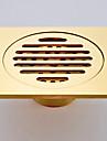 Gadget de Salle de Bain / Dore / Fixation Murale /10cm*10cm*5cm(3.9*3.9*1.95inch) /Laiton / Alliage de Zinc /Contemporain /10CM 10CM 0.3KG