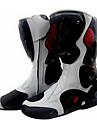 Chaussures Velo / Chaussures de Cyclisme Unisexe Bottes Antiusure Blanc / Noir-Pro-biker