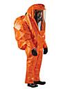 micro garde jia 6000 hermetiquement fermes costumes chimiques lourds siamoises resistant un niveau anti-ammoniac chimique