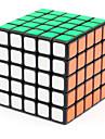 Shengshou® Cube de Vitesse  5*5*5 Vitesse Niveau professionnel Cubes magiques Noir Autocollant lisse ressort reglable ABS