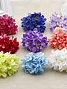 1 Une succursale Plastique Hortensias Fleur de Table Fleurs artificielles 10(3.9\'\')