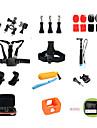 Accessoires pour GoPro Accessoires KitPour-Camera d\'action,Gopro Hero 2 / Gopro Hero 5 / Gopro Hero 4 Session Universel *(14pcs)Autre /