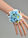 """Flori de Nuntă Legat Manual Bujori Corsaj de mână Nuntă Tul Dantelă 2.76""""(Approx.7cm)"""