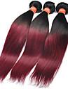 Tissages de cheveux humains Cheveux Malaisiens Droit 4 Pieces tissages de cheveux