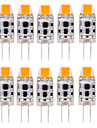 G4 LED a Double Broches T 1 COB 300-350 lm Blanc Chaud Blanc Froid Blanc Naturel Etanches Decorative AC 12 AC 24 DC 24 DC 12 V 10 pieces