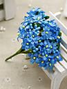 1 Une succursale Soie Gypsophila Fleur de Table Fleurs artificielles 10CM