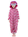 kigurumi Pyjamas New Cosplay® / Chat Collant/Combinaison Fete / Celebration Pyjamas Animale Halloween Incarnadin Mosaique vison de velours