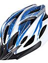 Hjälm(Blå / Orange,Karbonfiber + EPS) -Berg / Väg) - tillCykling / Bergscykling / Vägcykling / Rekreation Cykling-Unisex 16 Ventiler