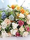1 Gren Polyester Plast Roser Annat Bordsblomma Konstgjorda blommor 27(10.62\'\')