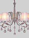 Max 40W Chandelier ,  Modern/Contemporary Electroplated Feature for Crystal Metal Living Room / Study Room/Office