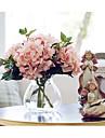 1 Une succursale Soie Hortensias Fleur de Table Fleurs artificielles 62(24.41\'\')