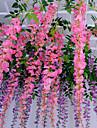 1 1 Une succursale Polyester / Plastique Autres Guirlande et Fleur Murale Fleurs artificielles 43.3inch/110cm