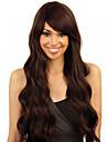brun färg cosplay syntetiska peruker billig våg peruker peruker