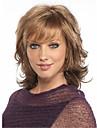 cheveux courts brun fonce boucles perruques femmes cosplay perruques perruques de fibres naturelles africaines et americaines