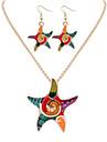 Bijoux Colliers decoratifs / Boucles d\'oreille Collier / Boucles d\'oreilles A la Mode Mariage / Soiree / Quotidien / Decontracte 1set