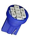 20x ultra blå kil t10 W5W 192 194 168 8-SMD LED lampor mäta instrument ljus