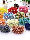 1 1 Une succursale Polyester Autres Fleur de Table Fleurs artificielles 3.9inch/10cm