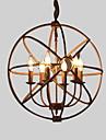 40 Ljuskronor ,  Rustik/Stuga Målning Särdrag for stearinljus stil Metall Vardagsrum Sovrum Dining Room Matsalsrum
