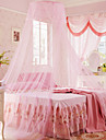 Uni Moustiquaire 4 Pieces Polyester Couleur Pleine Teinture PolyesterLit 1 Place / Lit 2 Places / Lit 2 Places \'Queen\' / Lit 2 Places