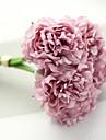 """1 Une succursale Polyester Plastique Pivoines Fleur de Table Fleurs artificielles 30(11.81"""")"""